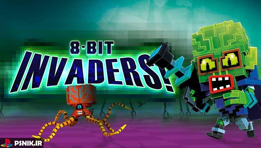 بازی 8-Bit Invaders