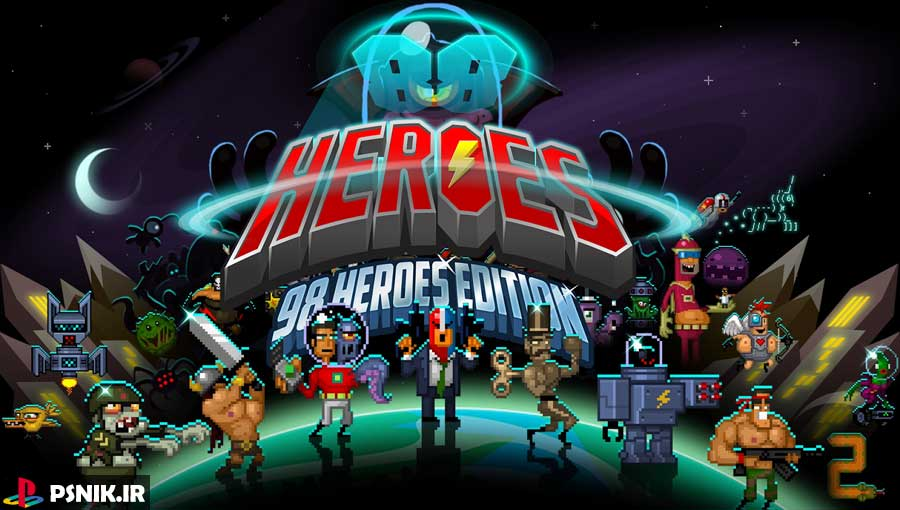 بازی 88 Heroes