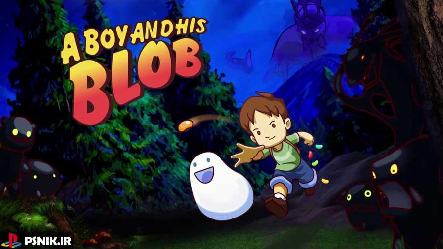 بازی A Boy and His Blob