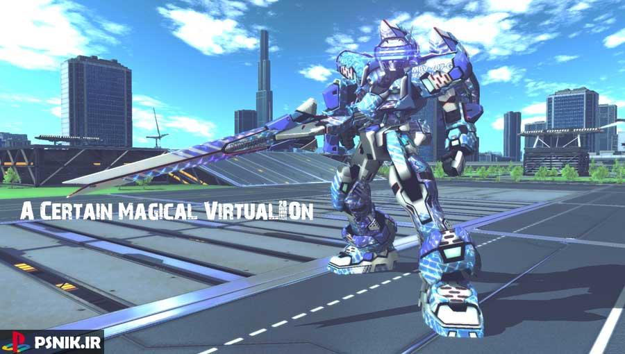 بازی A Certain Magical Virtual-On