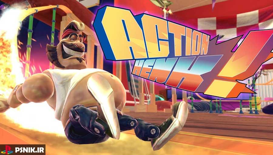 بازی پلی استیشن Action Henk
