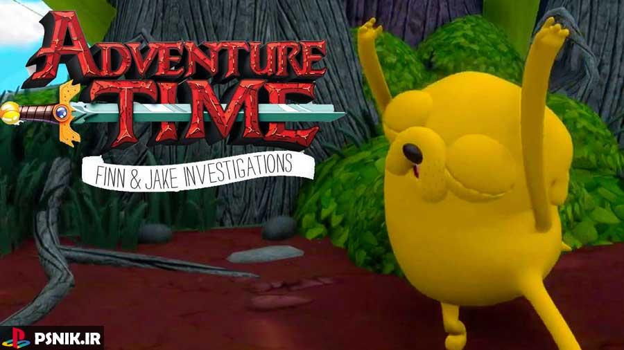 بازی Adventure Time: Finn & Jake Investigations