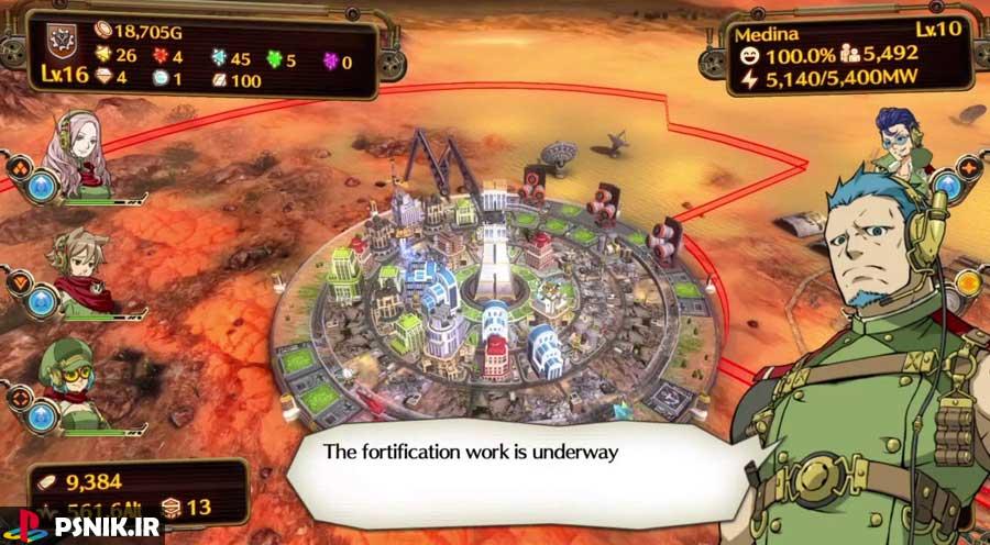 بازی Aegis of Earth: Protonovus Assault