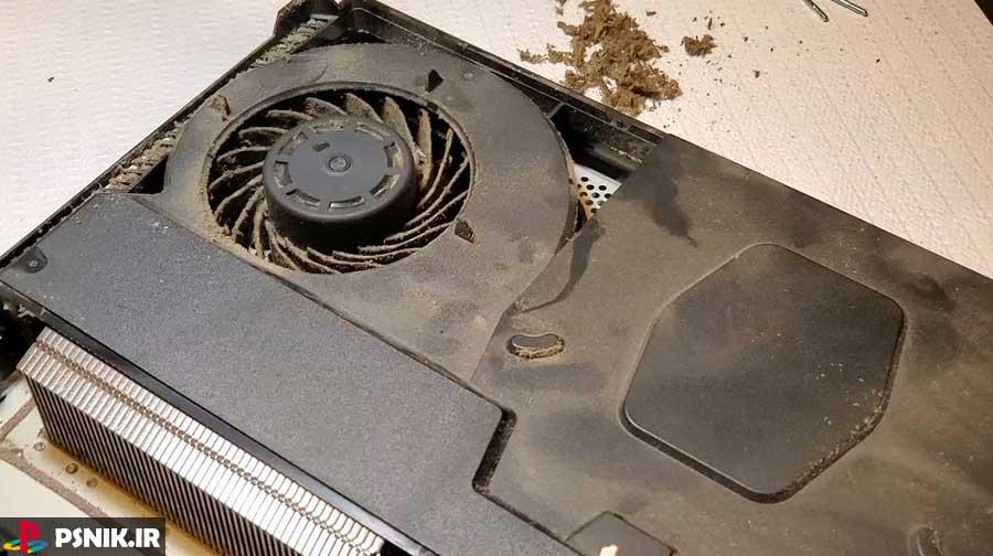 تمیز کردن کنسول PS4